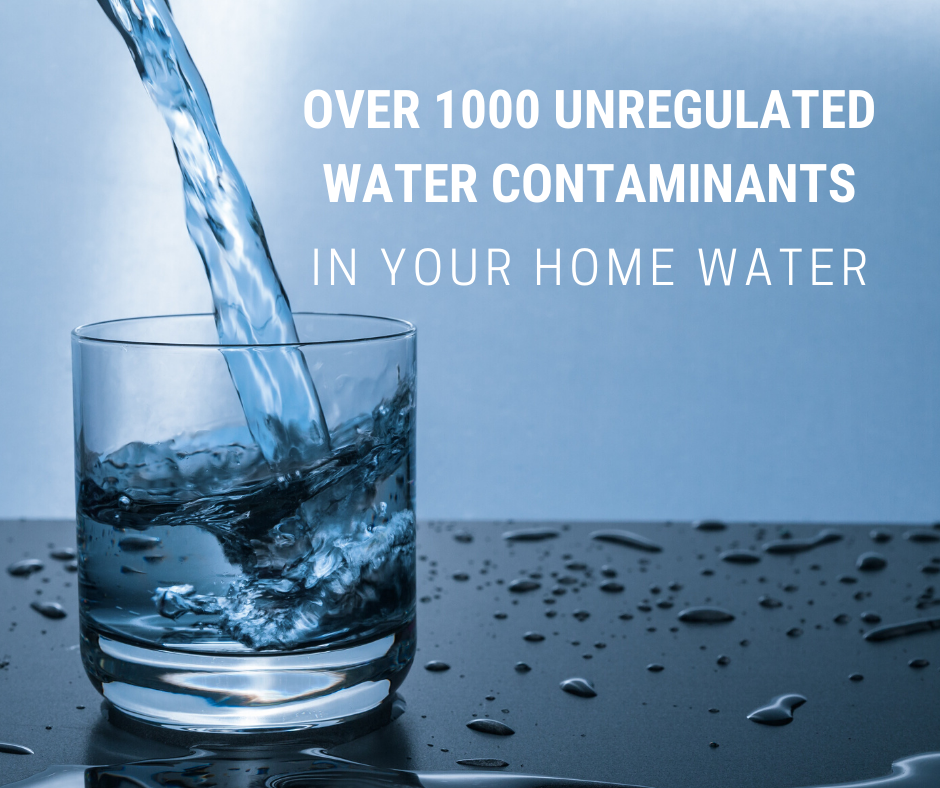 Water contaminants in your home water
